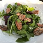 Arugala Salad with Beets and Pecans