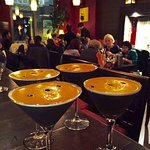 Try one of our popular espresso martinis