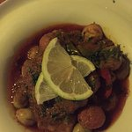 Monkfish tagine -- delicious!!!