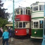 Trams and trolley busses all working and taking passengers