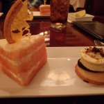 Dessert trio - notice there is only 2. They shorted us each a dessert and didn't even let us pic
