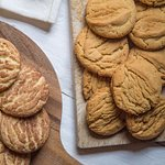 snicker doodle and peanut butter cookies
