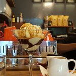 Affogato.... Just what the dusty traveler needs in 35 deg heat!