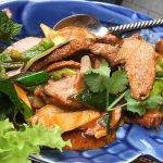 Looks great, lacks Thai spicy heat, flavor.