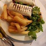 Bar Food very nice. Steakwich
