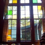 Some stained glass in the dining room