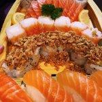Saumon 😍Super belle présentation pour mon anniversaire ! 🤗
