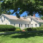 Four rooms on 13 acres conveniently located 3 minutes south of Middlebury College.