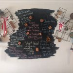 Specials on our blackboard menu
