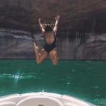 Lake Powell swimming