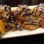 Turtle-stuffed French toast