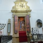 The Bimah of the Old Synagogue.