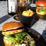 Vegetarian burger #1