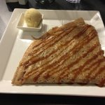 Geraldine/ Everybody's Favourite (Salted caramel Butter, cooked apple, handmade vanilla ice crea