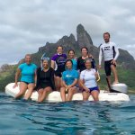 Last day in Bora Bora with the ladies