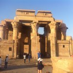 Temple of Kom Ombo Foto