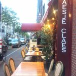 Great food, good service and nice atmosphere,