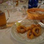 calamari and beer