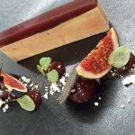 Foie gras confit fumé