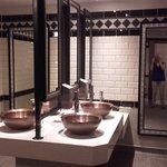Classy ladies' washroom