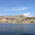 Taormina from a boat