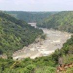 View from Gaganachukki water falls