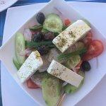 Greak salad - very fresh! Nice olives.