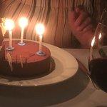 Le gâteau au chocolat...