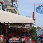 Spartakos restaurant.