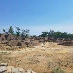 the village ruins