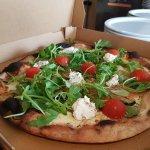 Photos pizzas cuite au feu de bois