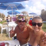 Me and Hellen from Moscow @ Blue Sea, Malia !