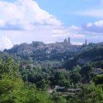 Vista centro storico di Urbino