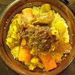 Couscous mouton, en plat