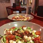 2 salades copieuses et délicieuses !