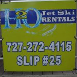 Look for our signs when trying to locate Slip 25