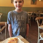 "Their pizza is a ""slice of heaven!"""
