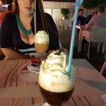 Baileys Coffee and Tia Maria Coffee -- yummy