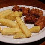 Kids Homemade Chicken Nuggets & Chips