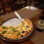 Pizza frango com catupiry e gênova