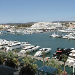 View of the Marina from the Tivoli Hotel