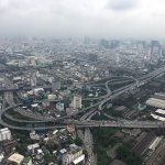 View from the top at Baiyoke
