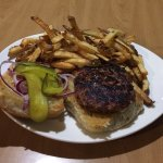 Summit Grill Burger With Home Cut Fries As Side