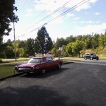 Classic T-Bird in front of the Inn!