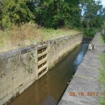 James river barge canal Lock