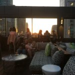 Roof Top Lounge on the 29th Floor.