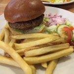 Wildboar burger. Very delicious!