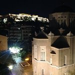 View from roof top of Acropolis