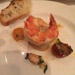 Cast Iron Garlic Shrimp