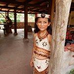 Local girl at Cacao Farm